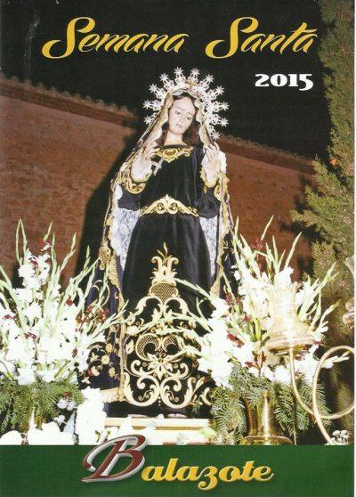 Cartel Semana Santa Balazote 2