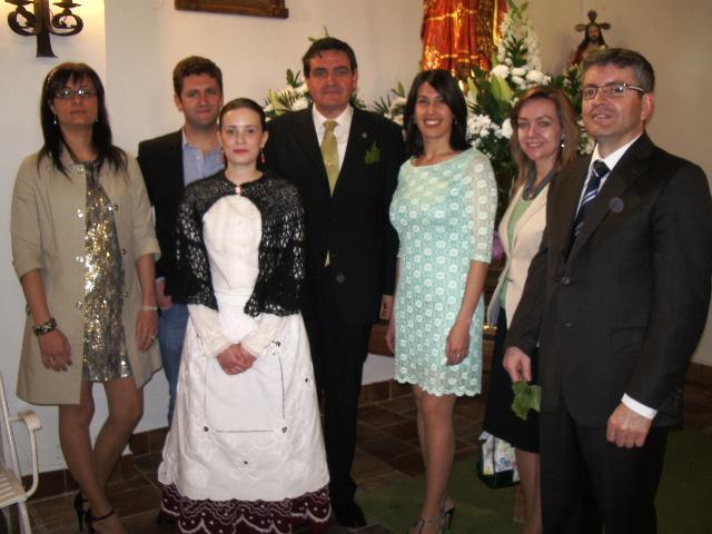 Diputados y Concejales Populares en la ermita de Santa Mónica