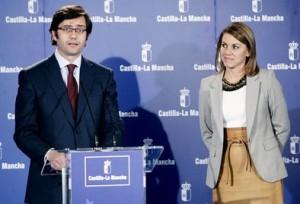 Arturo Romaní y Mª Dolores Cospedal