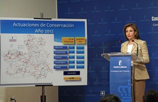 Marta García de la Clazada, Consejera de Fomento