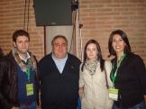 Concejales de Balazote con Vicente Tirado, Presidente de las Cortes de C-L M