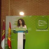 Cristina Molina, Presidenta de Nuevas Generaciones de C-L M