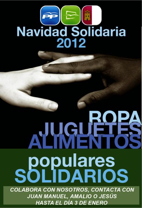 Navidad Solidaria 2012, NNGG Balazote
