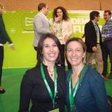 Toñi con Ana Guarinos, Presidenta de la Diputación de Guadalajara