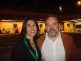 Toñi con Jesús Labrador, Delegado del Gobierno en C-L M