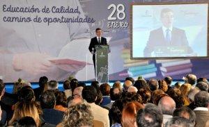 Marcial Marín, Consejero de Educación, Cultura y Deportes