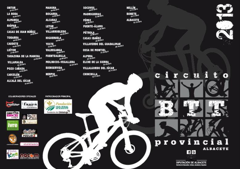 Cartel BTT 2013