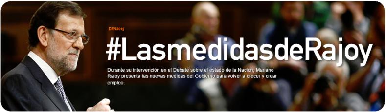 Las medidas de Rajoy