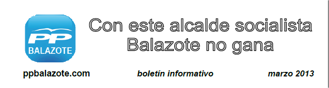 Boletín informativo marzo 2013