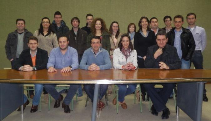 María Delicado, candidata a la presidencia de NNGG-AB, en Balazote