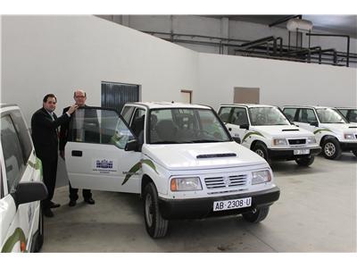 Paco Núñez en cesión gratuita de vehículos todoterreno