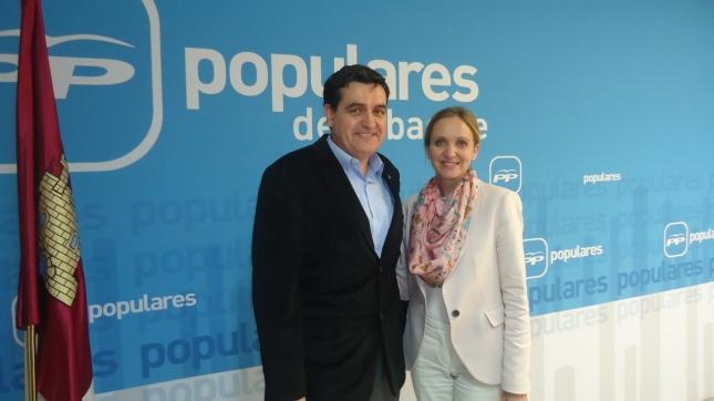 Jesús García y Carmen Casero