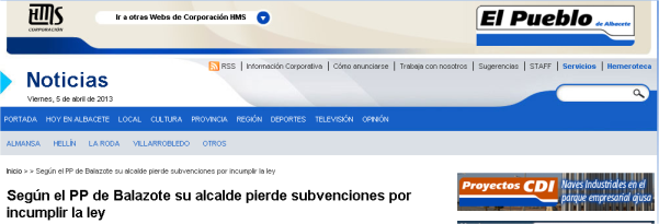 Noticia El Pueblo