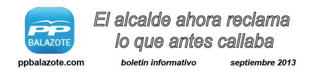 Boletín informativo septiembre 2013