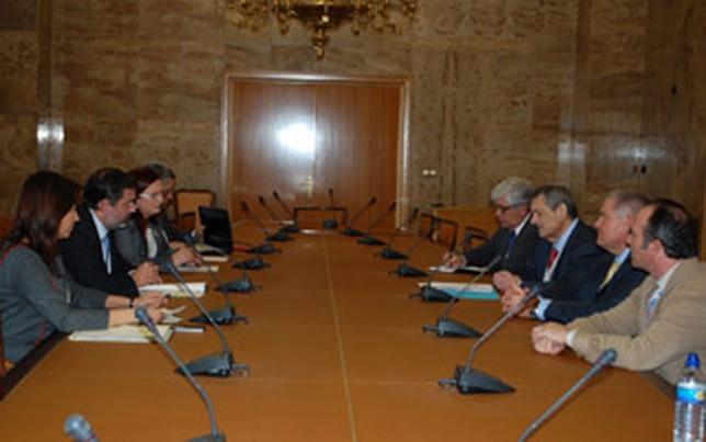 Reunión Secretasrio de Estado-Comunidad de Regantes