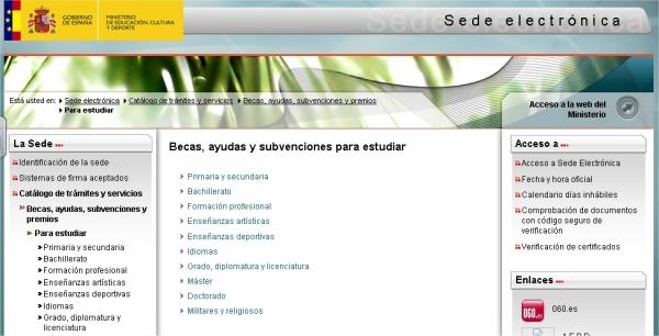 Becas 2014-15