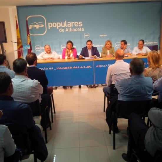 comité ejecutivo PP Albacete