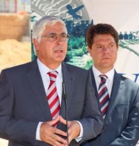 Barreda y su Vicepresidente García-Page