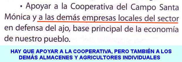 7. Apoyar a empresas locales del ajo...