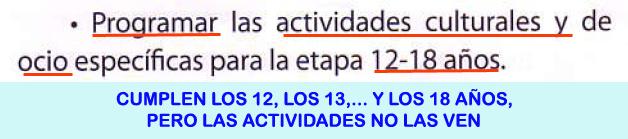 23. Actividades culturales y ocio 12-14 años...