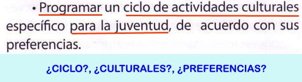24. Programar ciclo actividades culturales juventud...