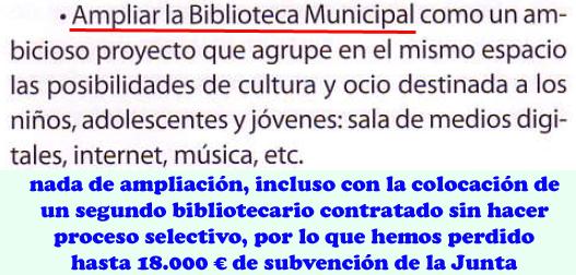 4 Ampliar Biblioteca Municipal