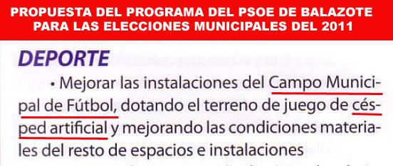 Propuesta psoe municipales 2011 campo fútbol