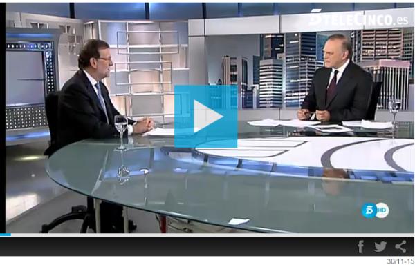 Entrevista a Rajoy